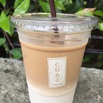 コビ コーヒー アオヤマ - テイクアウトのアイスラテ(L)
