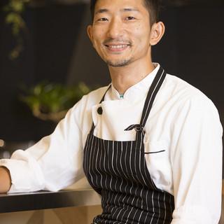 荻野伸也シェフ監修の料理をご堪能