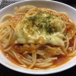 井戸端茶屋 - チーズたっぷりパスタ