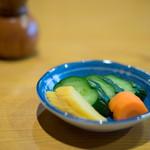 魚登久 - 新香(かうのもの)