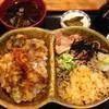 みなとや - 料理写真:アベック丼980円の冷たぬき・天丼にそば碗付き