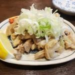 麺・粥 けんけん - 塩ガッチャン\480(16-08-1)