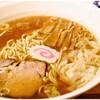 三鷹大勝軒 - 料理写真:中華麺 並盛+ワンタン 700+100円 煮干しの旨味とまろやかな油が美味しくマッチング♪