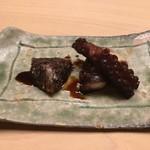 Sushiaoki - 蛸の東煮と卵