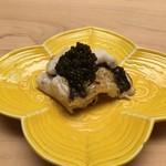 Sushiaoki - 穴子の白焼き、キャビア