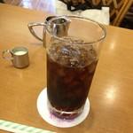 カフェテラス蘭館 - 2016年08月10日  アイスコーヒー 430円
