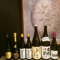 お手頃なワインや日本酒をご用意しております☆