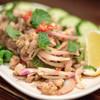 天だこ - 料理写真:2016.8 ラープムーイサーン(900円)豚ひき肉サラダ