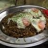まんぷく処たぬき - 料理写真:160810 そば飯