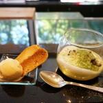 キッチン イトウ スタイル - 2016夏の新作デザート(名物ブラジルプリンのアイスクリーム、抹茶のムース)