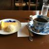 柴原珈琲店 - 料理写真:ケーキセットは800円