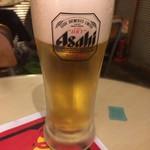 チキンチャップス - 生ビール