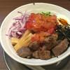赤シャモジ - 料理写真:2016/08/09 冷製ステーキ和え麺(大盛)
