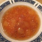 レストラン デミ - 冷製コンソメスープ