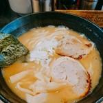 高田光幸 - 濃厚豚骨魚介ラーメン     ¥700