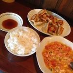 友ちゃん餃子 - 料理写真:注文しました(^O^☆♪
