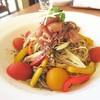 Trattoria & Pizza Banzo - 料理写真:生ハムの冷製パスタ(パスタSETの麺150g)