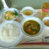 ジャイカフェ - 料理写真:「世界の料理(カンボジアカレーと春雨のサラダ)」700円