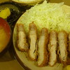 とんかつ 豚豚 - 料理写真:特ロースかつ定食 税込1500円