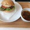 Rotacafe - 料理写真:Tempeh burger set