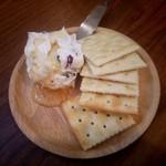 アパルトマン ヨンマルイチ - クリームチーズ ハチミツがけ