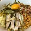 油そば専門店 noodle SPUNKY - 料理写真:ニンニク足しました。