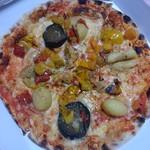 ベーカリーレストランSOLA - グリル野菜たっぷりのピッツァ
