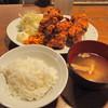 熊本バル うせがたん - 料理写真:鶏のからあげ定食