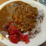 レストラン 彩巴 - 激辛カレーが食べた~い (大きさ分かりにくいけど小皿です←)