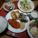 レストラン 彩巴 - ジャガイモ冷製スープ若干しょっぱめ
