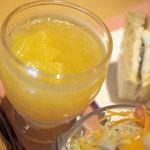 cafe creek - サンドウィッチランチ(夏季限定)のデザート