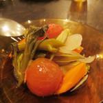 喃喃 - 夏野菜のマリネ