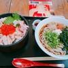 うえだ - 料理写真:親子めし    ¥990     セット かにそば    ¥510