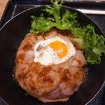 丼ぶり屋台 - ローストビーフ丼980円