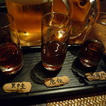 黒猫夜 - 紹興酒の利き酒ができます♪楽しい!