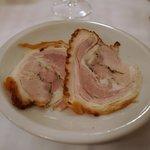 トラットリア ダル・ビルバンテ・ジョコンド - 千葉のカシューナッツを食べた豚のポリケッタ