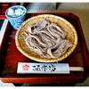 そば茶屋極楽坊 - 料理写真:「ざる蕎麦・五ボッチ」(2013.05)
