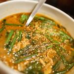 カリー ザイオン - 料理写真:ニラ豚カリー