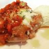ベルマーレ - 料理写真:メインはチキンの香草焼き(^^)メインとハーフパスタ、サラダ、ドリンクで1350円