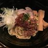 魚骨ラーメン 鈴木さん - 料理写真:さんま混ぜそば ハーフ