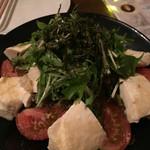ランタン - 豆腐と水菜の和風サラダ