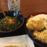 丸亀製麺 - 料理写真:鶏天ざる
