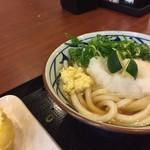 丸亀製麺 - 料理写真:スダチオロシ冷