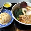 Anzutei - 料理写真:しょうゆラーメン450円にAセット(半チャーハン)+300円