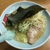 ラーメン山岡家 - 料理写真:醤油ラーメン、JAFトッピング白髪葱です。