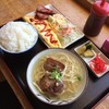 まるみつ食堂 - 料理写真:ハム玉子セット