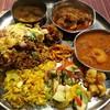 ゼロワンカレー - 料理写真:全部のせ、チキンビリヤニ