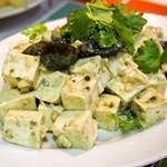 龍麺坊 - ピータン豆腐