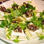 龍麺坊 - アンチョビ豆腐