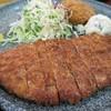 新橋 ごはん亭 - 料理写真:とんかつ定食(¥700−)